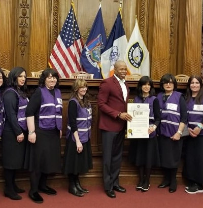 Brooklyn's Orthodox Female Emergency Medical Technicians Receive a Prestigious Public Citation for Success!
